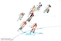 المرحلة النهائية من بطولة سباق الدرجات الهوائية في ايران /صور