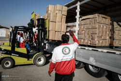 Iran's Red Crescent Society is transferring some150 tons of drugs to Iraq for Arba'een pilgrimage