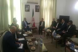 Iranian deputy FM receives Syrian counterpart in Tehran