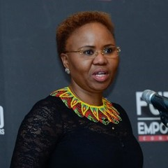 South African Minister of Small Business Development Lindiwe Zulu
