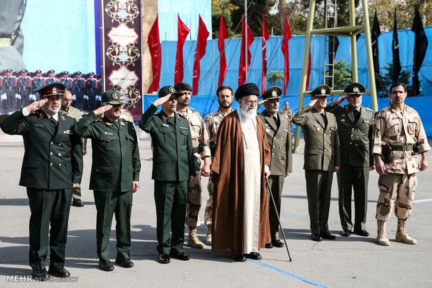 İnkılap Rehberi'nin askeri mezuniyet törenine katılımından kareler