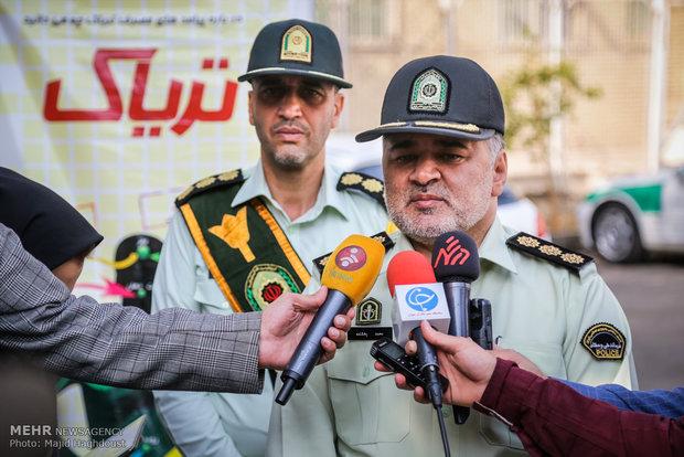 سرهنگ محمد بخشنده رییس پلیس مبارزه با مواد مخدر فاتب