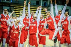 تیم بسکتبال دختران ایران