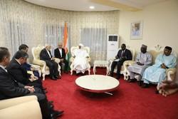 ظريف يبحث مع رئيس الوزراء النيجري سبل تعزيز العلاقات الثنائية