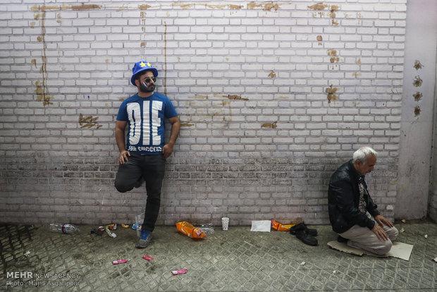 Tahran'daki derbinin heyecan dolu anlarına farklı bir bakış