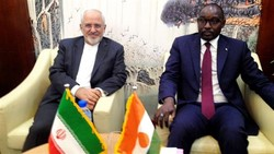 Zarif meets senior Nigerien officials