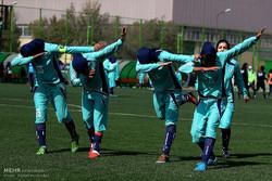 نتائج الدوري الممتاز لكرة القدم النسائية في إيران/ صور