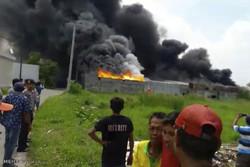 آتش سوزی مرگبار در اندونزی