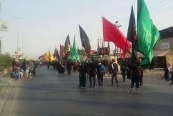 تنها موکب فعال در مسیر برگشت زائران موکب حیدریه استان زنجان است
