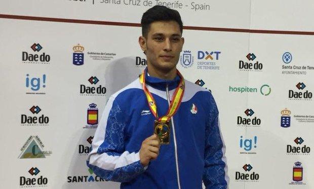 Junior Karateka snatches gold at World C'ships