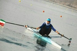 Iranian women's rowing team departs for China