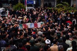 تشییع ۵۴ شهید تازه تفحص شده ناجا
