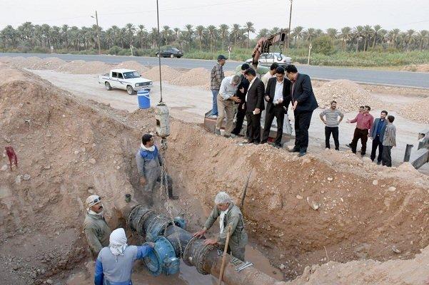 آب منطقه زلزله زده«ازگله» وصل شد/تلاش برای آبرسانی سایر مناطق
