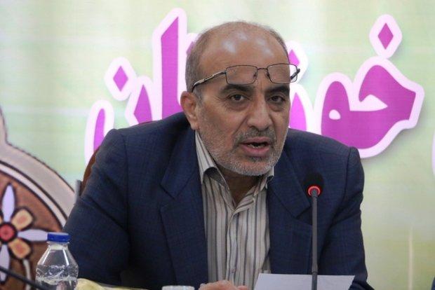 حبیب الله آصفی فرماندار دزفول
