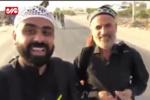 پیرمردی که از کویت تا عراق را میدود
