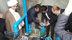 افتتاح پروژه آبرسانی روستایی در ورزقان با ۳۲۵۰ میلیون ریال اعتبار
