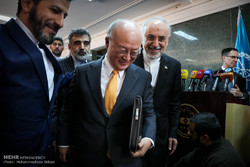 IAEA chief in Tehran