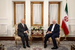 لقاء وزير الخارجية الايراني ومدير الوكالة الدولية للطاقة الذرية / صور