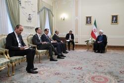 الرئيس الايراني: ايران لن تكون اول من ينتهك الاتفاق النووي مطلقاً