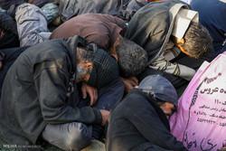 ۳۹۰ معتاد متجاهر در طرح پاکسازی پلیس خنداب جمع آوری شدند