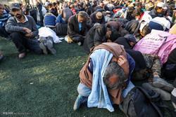 ۴۰۰ معتاد متجاهر از سطح استان همدان جمعآوری شد