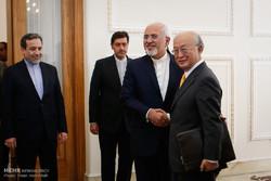 İran Dışişleri Bakanı, Yukiya Amano ile görüştü