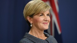 Julie Bishop The Australian foreign affairs minister