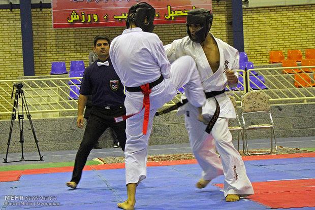 """منافسات """"كيوكوشن كاراتيه"""" العالمية بمدينة سنندج الإيرانية"""