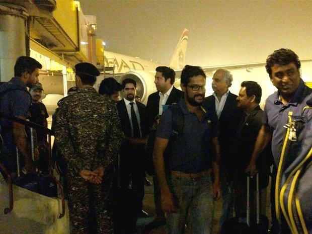 سری لنکا کی کرکٹ ٹیم اسلام آباد پہنچ گئی