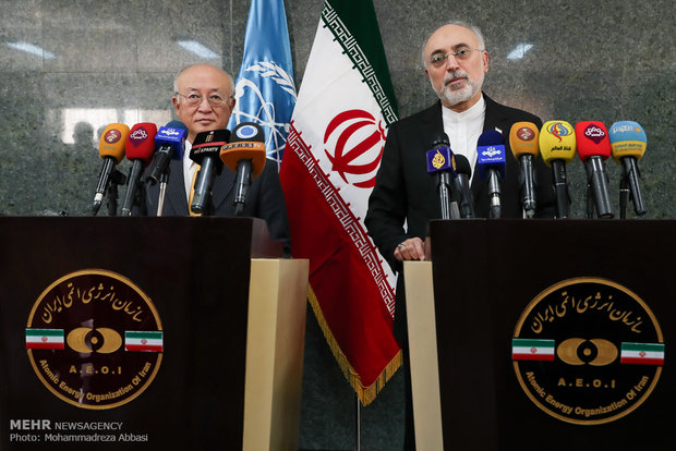 VIDEO: Amano, Salehi's presser in Tehran