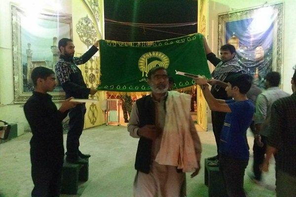 باكستانيون في مراسم عزاء الأربعين الحسيني على معبر شلمجه /فيديو