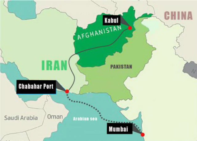 India launches trade route to Afghanistan via Iran - Tehran ... on india china map, india trade route art, india road map, india terrain map, india travel map, india culture map, india british empire map, india africa map, india russia map,