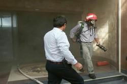 آتش سوزی پاساژ