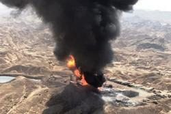 میدان نفتی رگ سفید فوران چاه