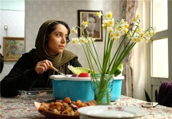 "Nazanin Bayati acts in a scene from ""Mothering"" by Roqieh Tavakkoli."
