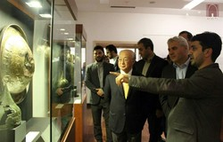 Amano visits National Museum of Iran