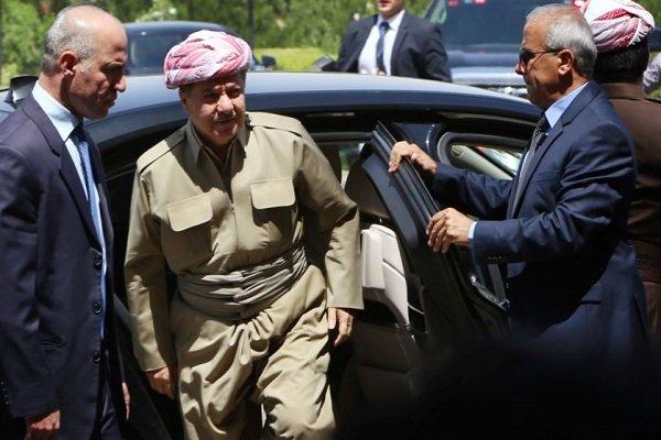 نتیجه تصویری برای پایان دوران کاک مسعود؛ تقسیم قدرت میان خانواده بارزانی