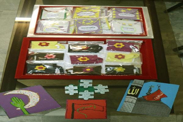 دستسازههای اعضای کانون گیلان به زائران کربلا اهدا میشود
