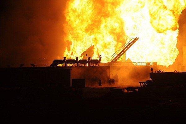 نزدیکی بیشتر به کانون آتش چاه نفت/اتاق کنترل برق از دسترس خارج شد