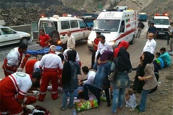 وقوع ۱۶ حادثه جادهای در اردبیل/۳۵ نفر مصدوم شدند
