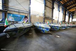 تحویل دهی انبوه شناور های تندرو گلف به سازمان شیلات توسط سازمان صنایع دریایی وزارت دفاع
