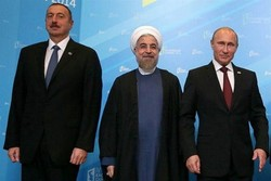 Rouhani, Putin, Aliyev to meet in Tehran, on Wed.
