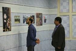 افتتاح نمایشگاه عکس عاشورایی گراش در نگارخانه آبشار اندیشه
