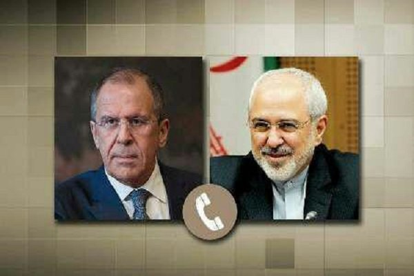 Iranian, Russian FMs hold phone talks