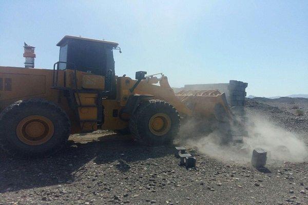 اجرای حکم تخریب ۱۸ بنای غیر مجاز در اراضی کشاورزی ارومیه