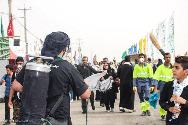 """زوار الامام الحسين (ع) على حدود """"جذابة"""""""