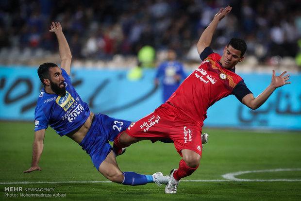 """مبارات فريقي""""إستقلال طهران"""" و""""نفط طهران"""""""