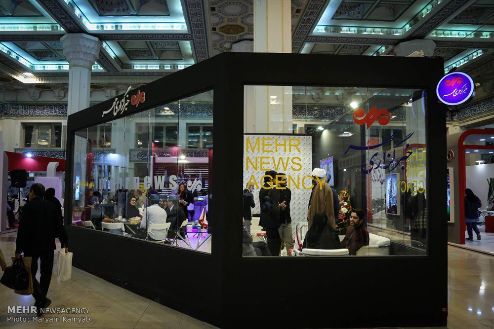 پنجمین روز بیست و سومین نمایشگاه مطبوعات و خبرگزاری ها -۱