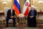 VIDEO: Pres. Rouhani holds talks with Russia's Putin