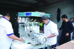 روزانه ۲۱ هزارقرص نان برای زائران اربعین پخت می شود